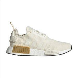 Adidas originals NMD R1 Off White/Metallic Gold